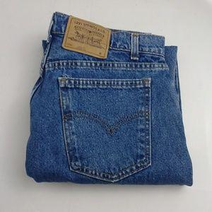 Levi's Loose fit blue jeans women's size 14 M